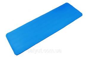 Коврик для йоги Sapphire SG-105 1.2 см синий