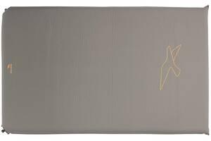 Коврик туристический Easy Camp Self-inflating Siesta Mat Double 10 cm Grey