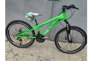 """Крепкий подростковый велосипед 24"""" CROSS SHARK (21 SPEED)"""