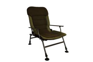 Крісло коропове для риболовлі Vario Elite XL велике посилене