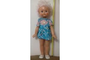 Кукла Лида шагающая, как новая, времен СССР, 64 см, пластмас.