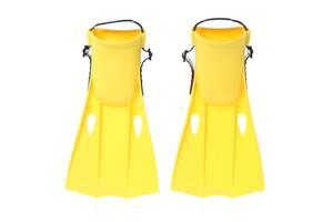 Ласты для плавания Intex 55937 Medium Swim Fins размер 38-40 от 12 лет Желтый (55937-1_int)