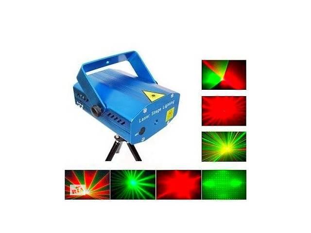 продам Лазерный диско проектор стробоскоп лазер светомузыка 3 режима, микрофон, регулировки бу в Одессе
