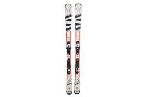 Лижі гірські Salomon XR 160 Black-White Б/У (XR160_Blk_Wht)