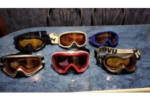 Лыжные маски и палки