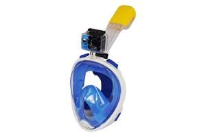Маска для снорклинга Easybreath L/XL Голубой (50500001)