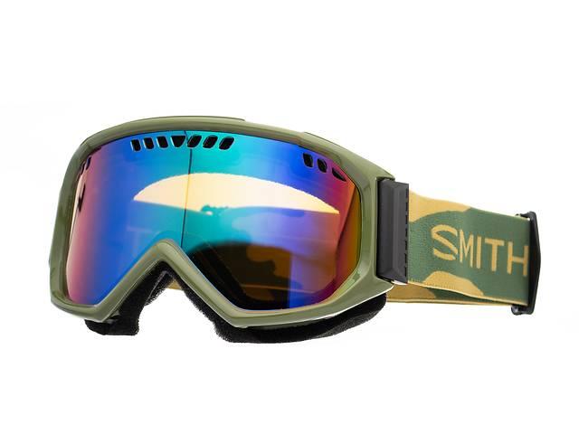 продам Маска гірськолижна Smith Scope Green Sol-X mirror Khaki (98675) бу в Львове