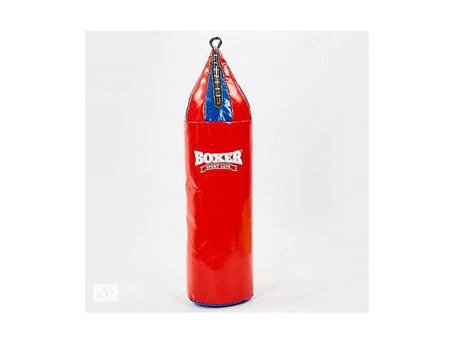 бу Мешок боксерский большой шлем Пвх 0.7 мм высота 0,95 м диаметр 0,26 м 10кг красный SKL11-282458 в Одессе