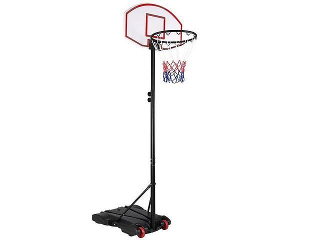 бу Мобильная баскетбольная стойка Lux 213 баскетбольное кольцо с регулировкой высоты 165 - 213 см (stl_207454) в Киеве