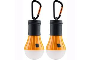 Набор фонарей AceCamp 1008 LED Tent Lamp Orange (1008)