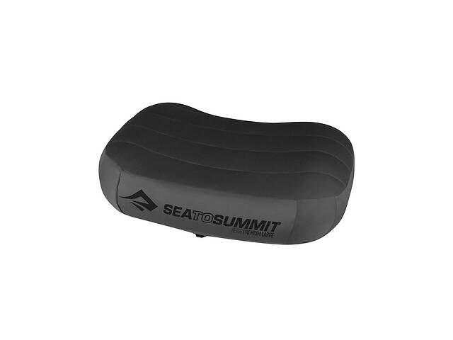 купить бу Надувна подушка Sea To Summit Aeros Premium Pillow Large Grey (STS APILPREMLGY) в Львове