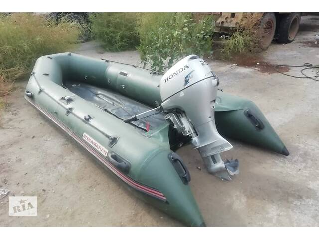 продам Надувная лодка с мотором бу в Умани