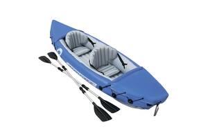 Надувная лодка с веслом BESTWAY Hydro-Force Raft Set 65077
