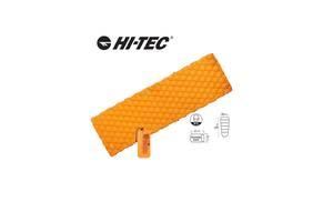 Надувний килимок Hi-Tec AIRMAT 190x60 Помаранчевий (HT-airmat190-orange)
