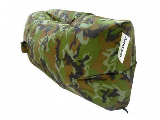 Надувной матрас Ламзак AIR SOFA Army водонепроницаемый, ламзак-лежак, Надувной портативный диван- объявление о продаже  в Одессе