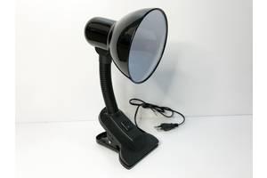 Настольная лампа на прищепке черная (11008)