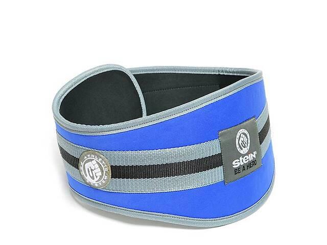 Неопреновый пояс с наполнителем для фитнеса и бодибилдинга Stein Lifting Belt BWN-2423 Blue- объявление о продаже  в Дніпрі (Дніпропетровськ)