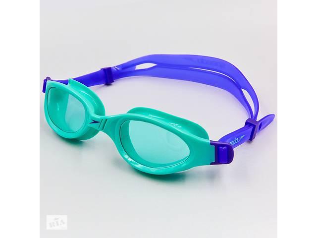 бу Очки для плавания детские SPEEDO FUTURA PLUS JUNIOR 809010B858 Blue (ZA04039) в Киеве