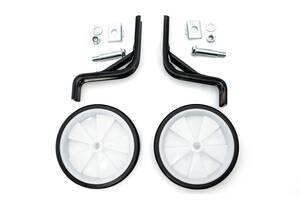 Опорні (тренувальні) колеса FSK-BH-204 для дит. вів. 12& quot; -16& quot; білі з чорним (білий з чорним)