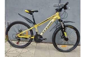 """Отличный горный велосипед 24"""" titan XC2419 (Shimano Altus, Prowheel, ALU, Disk)"""