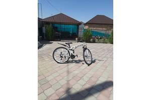 Отличный спортивный велосипед на литых титановых дисках.