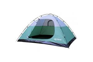 Палатка SOLEX четырехместная зеленая (82115GN4)