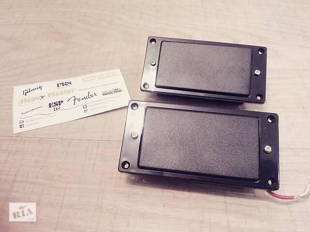 купить бу Пара хамбакеры датчики закрытого типа Alnico под EMG 81/85 для электрогитары Fender Gibson Ibanes Shur LTD ESP в Тетиеве