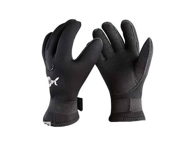 купить бу Перчатки для дайвинга Dolvor 3017 неопреновые 5мм размер M SKL11-282906 в Києві