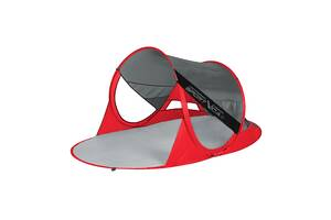 Пляжный тент SportVida Grey/Red 190 x 120 см SV-WS0009 SKL41-250618