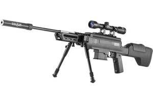 Пневматическая винтовка Norica Black OPS Sniper 4.5мм 305м/с (1665.11.81)