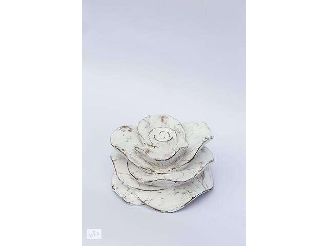 продам Подсвечник Роза BST 13x10 см декоративный 530309 бу в Киеве