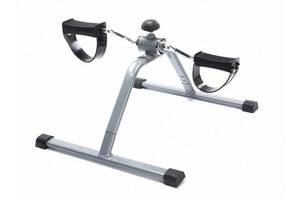 Портативный педальный тренажер Supretto Easy Серый (5631)