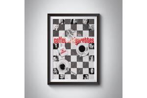 Постеры фильмов Джима Джармуша - Кофе и сигареты, Выживут только любовники