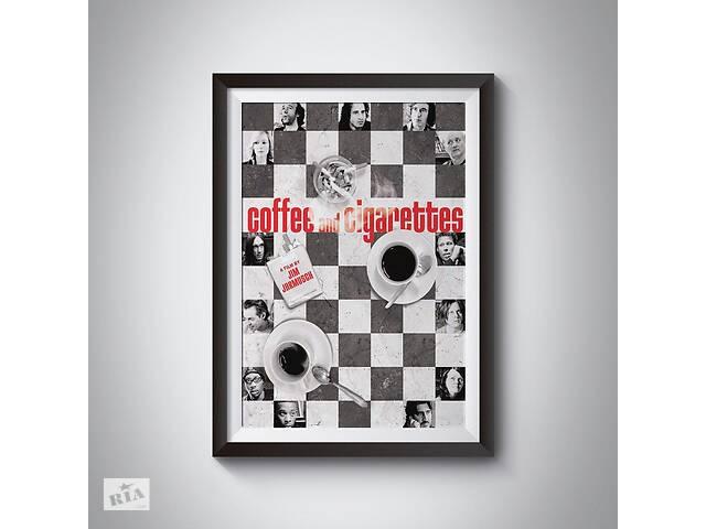 продам Постеры фильмов Джима Джармуша - Кофе и сигареты, Выживут только любовники  бу в Львове