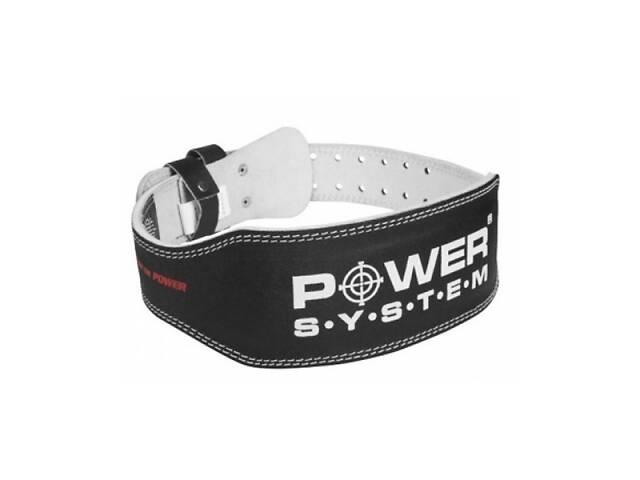 купить бу Пояс для тяжелой атлетики Power System Basic PS-3250 Black S SKL24-145078 в Одессе
