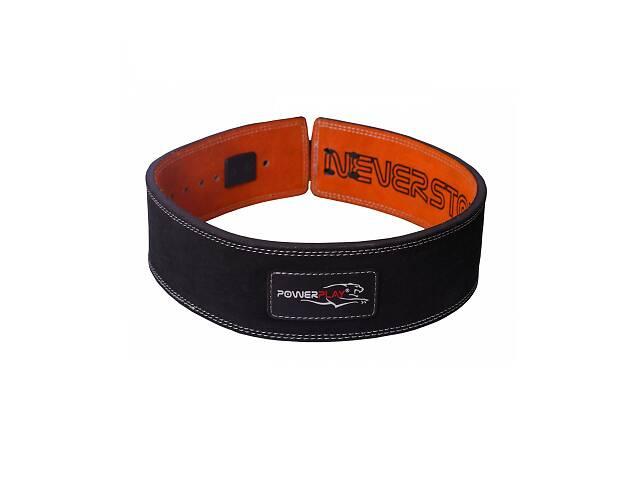 купить бу Пояс для важкої атлетики PowerPlay 5175 Чорно-Оранжевий S SKL24-143938 в Києві