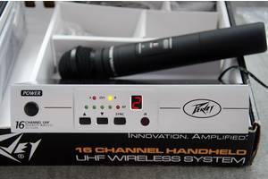 Радіомікрофон Peavey PV 16 UHF HH новий