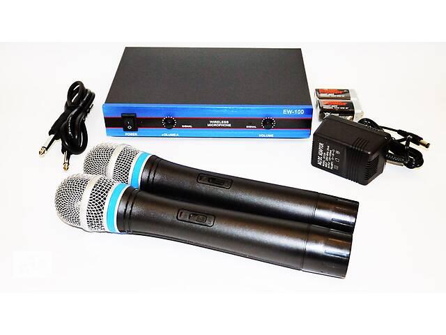 продам Радиосистема DM EW 100 база 2 радиомикрофон бу в Одессе