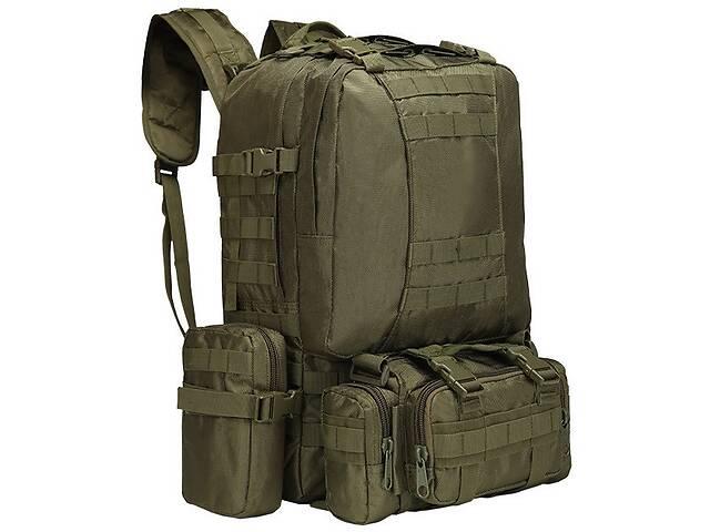 Рюкзак тактический с подсумками Kronos A08 50 л Олива (gr_014542)- объявление о продаже  в Киеве