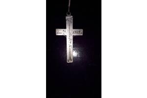Серебряный крест 1902 год