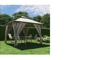 Шатер садовый 3м х 3м с плотной ткани полиэстер,павильон беседка