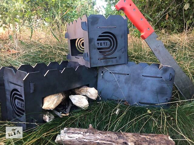 бу щепочница. большая.мини мангал.печь (сталь).YETI. в поход. в Киеве