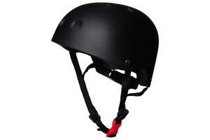 Шолом-захист для велосипедистів дитячий Feel Fit Чорний
