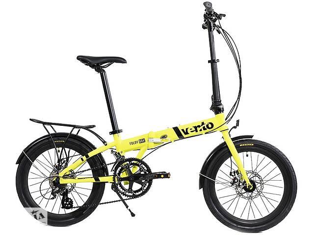 Складаний велосипед Vento Foldy Adv 2020 жовтий- объявление о продаже  в Києві