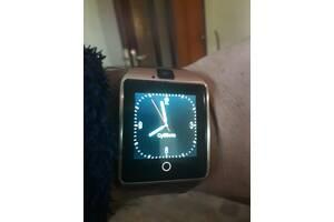 Смарт годинник, заряджаються від ЮСБ, колір золотий