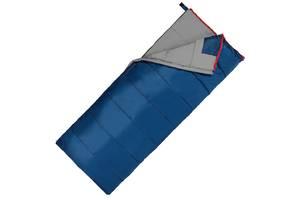 Спальний мішок (спальник) ковдру SportVida SV-CC0066 -3. .. + 21& deg; C R Blue/Grey