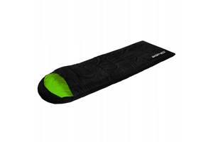 Спальный мешок SportVida SV-CC0019 Left Black-Green - 227625