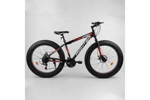 Спортивний велосипед Фетбайк& laquo; Fighter& raquo; колеса 26 дюймів 21 швидкість