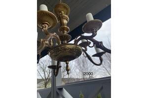 Старинная лампа светильник люстра потолочная