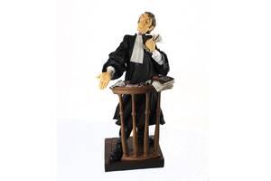 Статуэтка адвокат Forchino 600005 40 см. подарок юристу